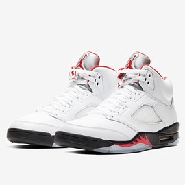 "NIKE - AIR JORDAN 5 RETRO ""FIRE RED"""