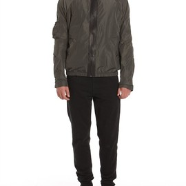 Alexander Wang - Memory Nylon Wind Breaker With Hidden Hood Thumb