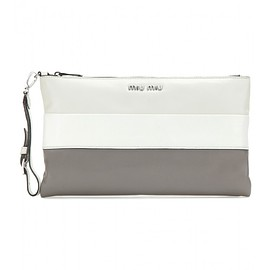 miu miu - Leather clutch