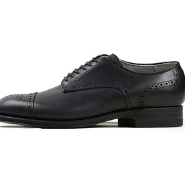 Alden - 54097 Medallion Tip Oxford-Black