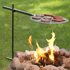 Bob-A-Que 360deg Swivel Outdoor Grill - Bob-A-Que 360deg Swivel Outdoor Grill