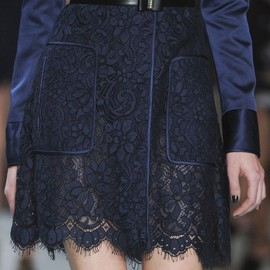 Jason Wu - Spring 2013 | Love lace navy