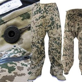 GRIFFIN - military snow pant and a Thai trouser