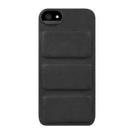 incase - Leather Mod Case for iPhone 5 - Black