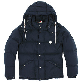MONCLER V - BOROSIRI PADDED DOWN JACKET (NAVY)