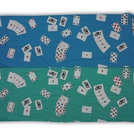 PEEL&LIFT - playing card scarf