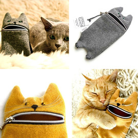 Tokyo Inspired - Hungry Kitty Zipper Case