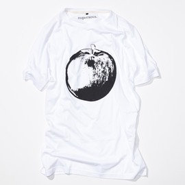 superNova. - Printed Big Tee - Cracked Apple