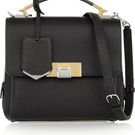 Balenciaga - Le Dix mini textured-leather shoulder bag