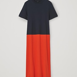 COS - COLOUR-BLOCK COTTON DRESS