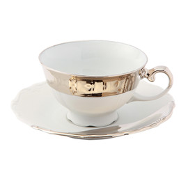 THE CONRAN SHOP - REICHENBACH PAOLA NAVONE TEA CUP&SAUCER 0.22L
