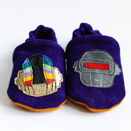 Daft Punk. Digital Love 'Rock n Sole Baby Slippers.