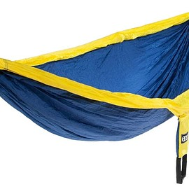 ENO - Double Nest Hammock - Navy/Yellow