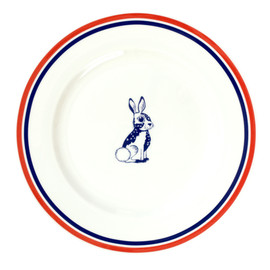 Louise Wilkinson - Rabbit Dinner Plate