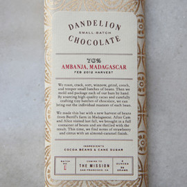 DANDELION CHOCOLATE - MADAGASCAR