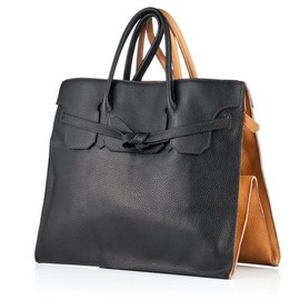 Slow and Steady Wins The Race - FourSided Rectangular Leather Bag