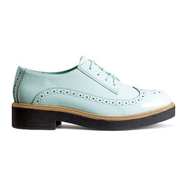H&M - mint brogues