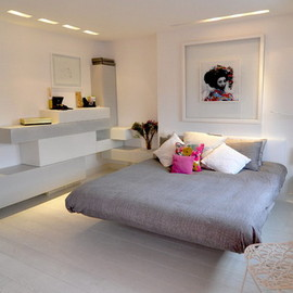 contemporary modern - this bed room