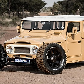 TOYOTA - Land Cruiser FJ 40 Hot Rod  1976