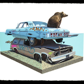 Josh Keyes - The call 1