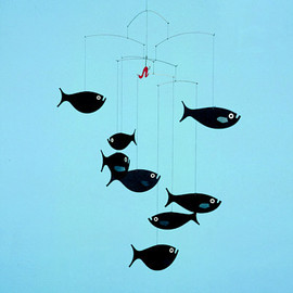 Flensted Mobiles - shoal of fish