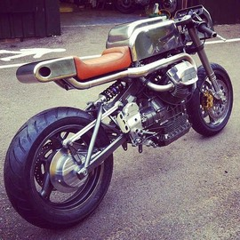 "Foundry motorcycle - ""The Pipeline"""