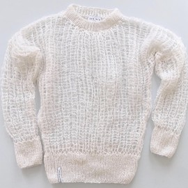 AKA SIX - NEW SPRING KNIT JUMPER / WHITE-SPECIAL ORDER