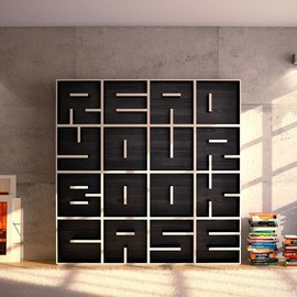 design by Eva Alessandrini and Roberto Saporiti - READ YOUR BOOKCASE /