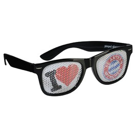 FC Bayern Fan glasses I love