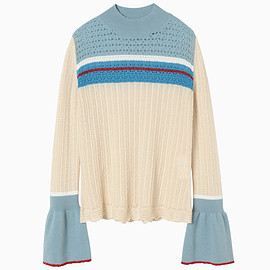 mame - Nostalgic Pattern Knit Sweater