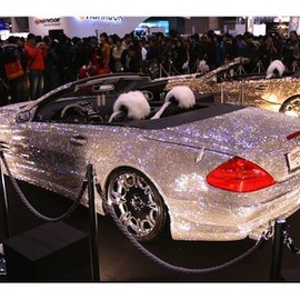 Mercedes-Benz - Swarovski Covered SL600