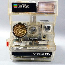 POLAROID - AUTOFOCUS 660 LAND CAMERA