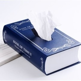 Musha - Retro Book Style Tissue Box