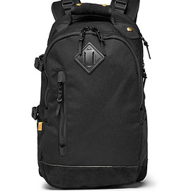 visvim - Suede-Trimmed Nylon Backpack - Black