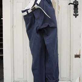 MASTER&Co. - CHINO with BELT Navy