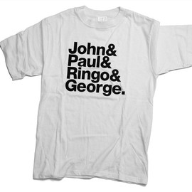 2K BY GINGHAM - John&Paul&Ringo&George, designed by Experimental Jetset