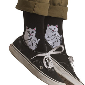 RIPNDIP - LORD NERMAL SOCKS(BLACK)