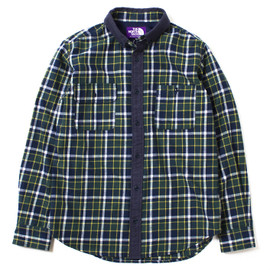 THE NORTH FACE PURPLE LABEL - THERMOLITE® Check B.D Shirt