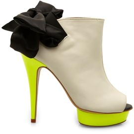 3.1 Phillip Lim - High heel neon platforms