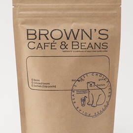 BROWN'S Cafe&Beans - BROWN'S original blend iced coffee