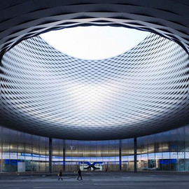 Herzog & de Meuron - 'messe basel hall', switzerland メッセバーゼル展示センター
