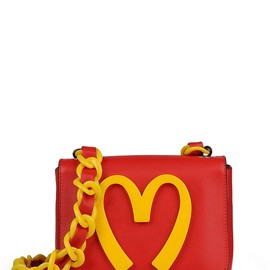 MOSCHINO - FW2014 CAPSULE COLLECTION SMALL LEATHER BAG