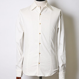 wjk - stretch wire shirts (white)