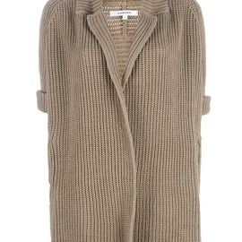 CARVEN - KNITTED COTTON CARDIGAN