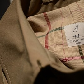 ANATOMICA - SINGLE RAGLAN COAT GAVADIN