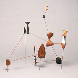 Alexander Calder  - Vertical Constellation with Bomb