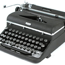 Royal - Quiet DeLuxe Portable of 1941