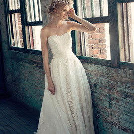 bridal regina strapless ball gown
