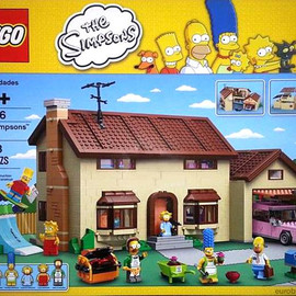 Lego - 71006 The Simpsons House