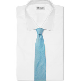 Richard James - Silk and Linen-Blend Tie